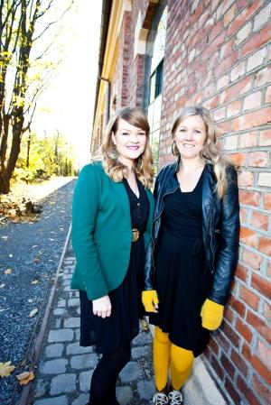 Aina Kristiansen og Hanna Norberg