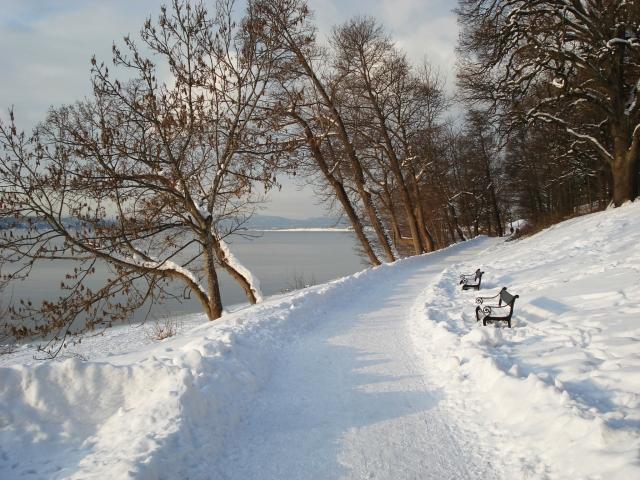 Kirsti Skogen Torgersen - Vinter i Hvervenbukta