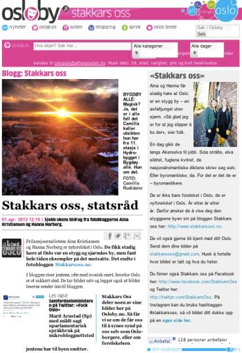 Skjermdump fra Osloby.no