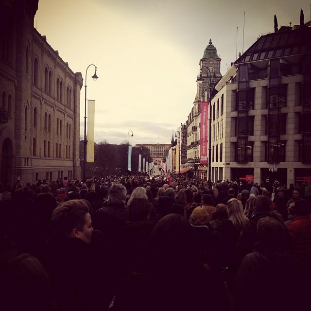 Aina Kristiansen –Karl Johans gate