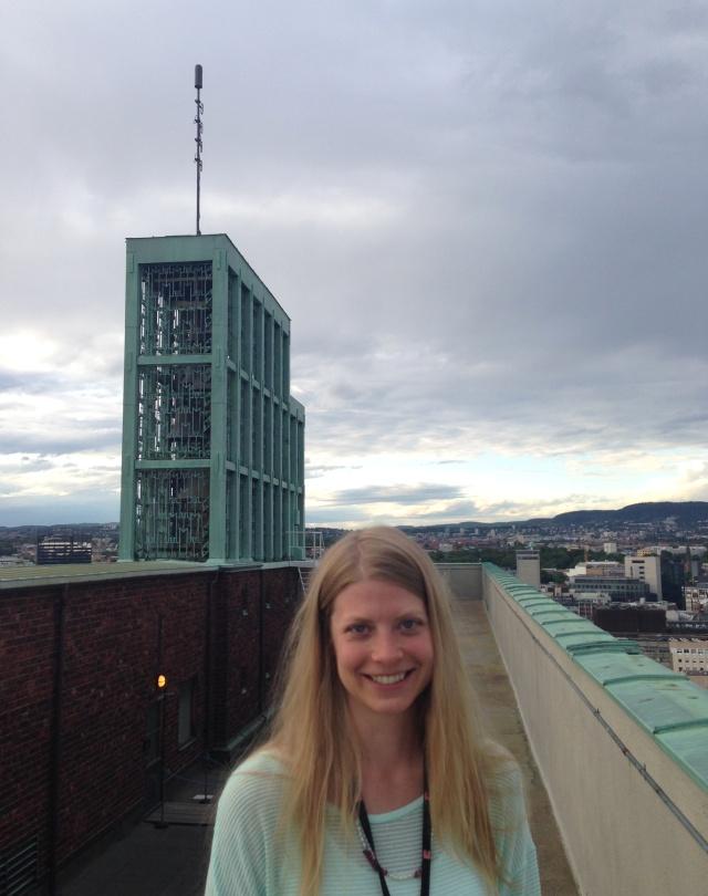 Hanna Norberg - Klokkenisten Oslo rådhus 5