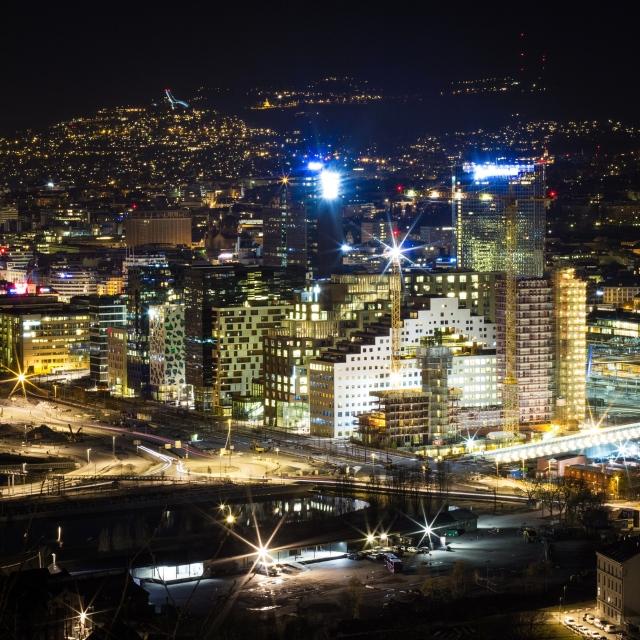 Snorre Veggan - oversiktsbilde Oslo
