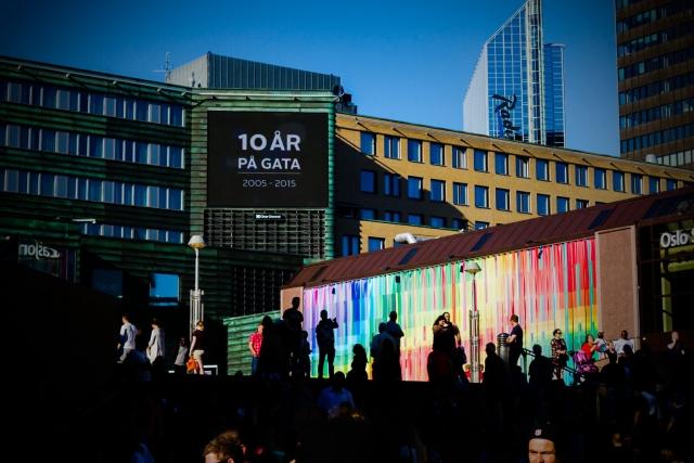 Irene Mythe - Pride Jernbanetorget:Oslo S